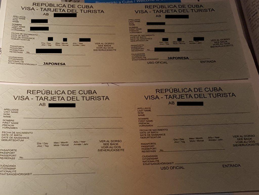 cuba-tourist-card-visa